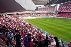 スタジアム内風景