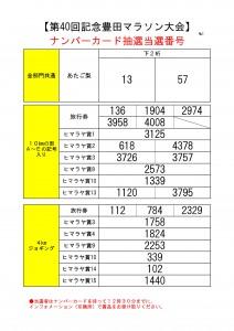 ナンバーカード抽選当選番号掲示用(第40回)-001